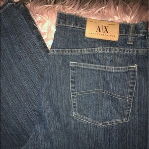Armani exchange Blue Jeans in Goldrush